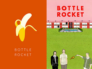 "1992 short (left) for ""Bottle Rocket"" helped make the 1996 feature."