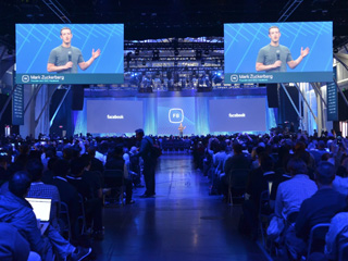 Facebook's F8 Conference. Photo courtesy developers.facebook.com.