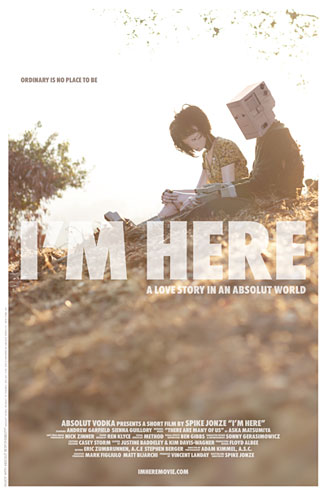 im here poster Experiments with Social Viewing
