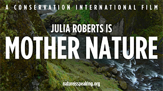 "Watch ""Julia Roberts is Mother Nature."""