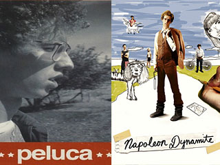 "2002 short (left) for ""Napoleon Dynamite"" paved the way for a 2004 feature."