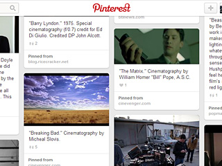 How Filmmakers Use Pinterest