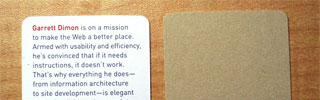 Garrett Dimon business card