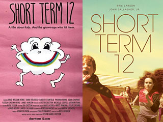"The 2009 short (left) and the 2013 feature for ""Short Term 12."""