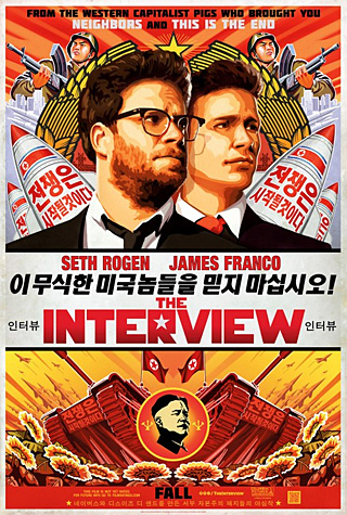 The Interview. Poster design by Ignition.