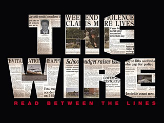 The Wire. Poster design by Ignition.