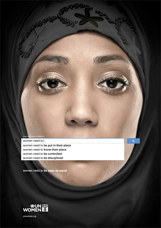 "UN Women ""Women Need To..."" ad by Ogilvy & Mather Dubai"