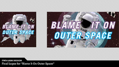Blame It On Outer Space Logo
