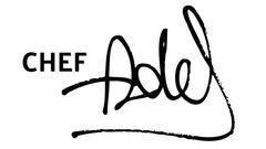 Chef Adel Logo
