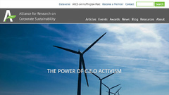 Alliance for Research on Corporate Sustainability