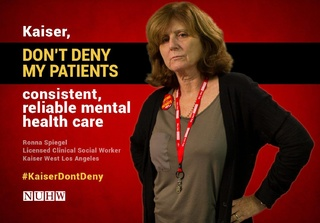 National Union of Healthcare Workers 'Kaiser Don't Deny'