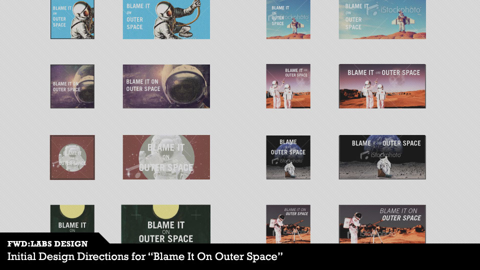 Photo for Blame It On Outer Space Logo