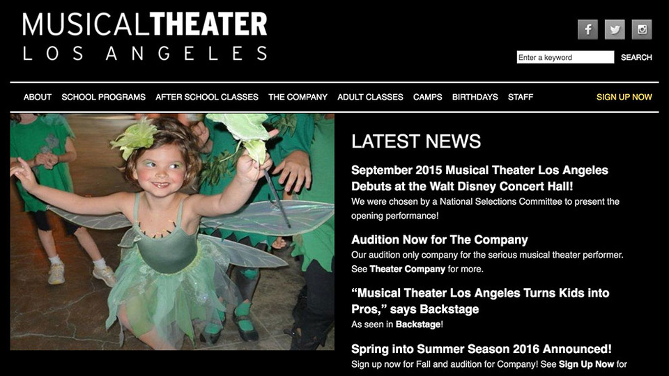 Photo for MusicalTheaterLosAngeles.com